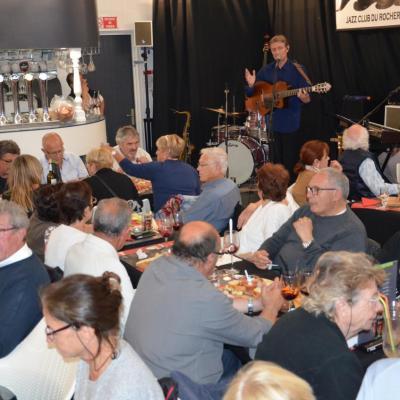 Jazz Club du Rocher Bruno Perren soirée du 12 mai