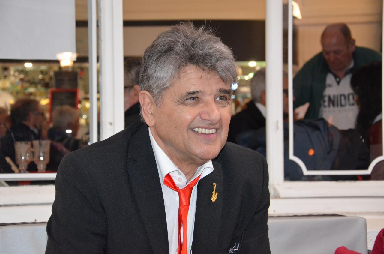 Guy Sanchez, président de l'association et leader du Jazz in Oc