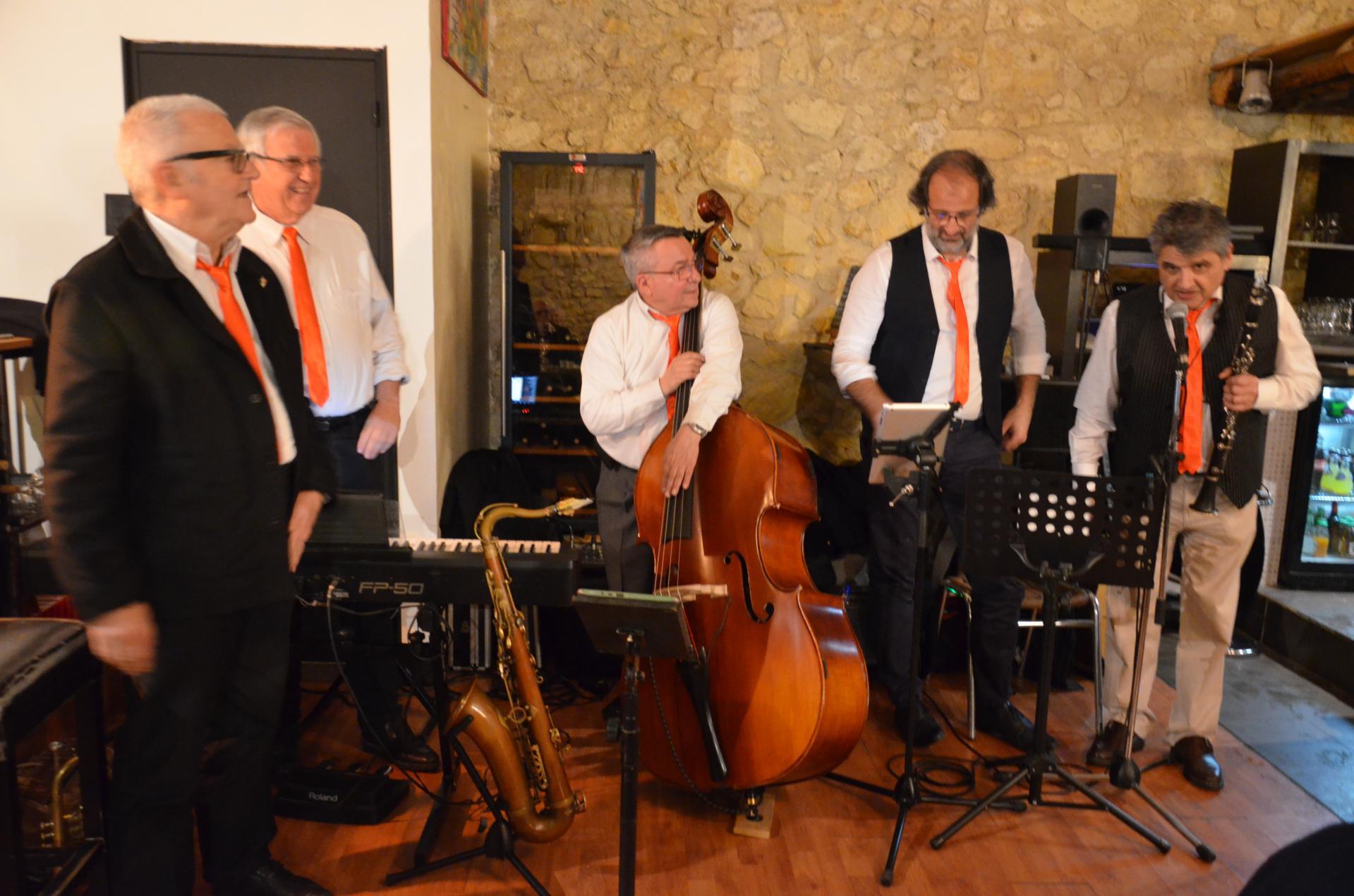 Le quintet de l'éphémère cinq musiciens dont le talent n'a rien d'éphémère